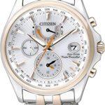 Citizen Damen-Armbanduhr Analog Quarz Edelstahl FC0014-54A B00KRL82B6