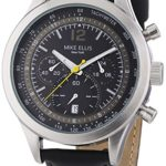 Mike Ellis New York Herren-Armbanduhr XL Chronograph Quarz Leder SL4-60226 B00LNB15QS