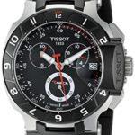 Tissot Herren-Uhren Quarz Chronograph T0484172705100 B004R1R20E