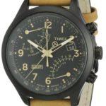 TIEX5|#Timex Timex Herren-Armbanduhr XL T-Series Fly-Back Chronograph Analog LederT2N700D7 B005DPYKIK