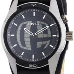 Fossil Herren-Armbanduhr XL Coachman Analog – Digital Quarz Leder JR1472 B00O9EKNJ6
