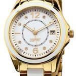 Esprit Damen-Armbanduhr Marin Ceramic Analog Quarz verschiedene Materialien ES105882003 B009KZYG3I