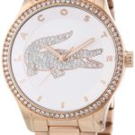 Lacoste Damen-Armbanduhr Analog Quarz Edelstahl beschichtet 2000828 B00ENWRRJS
