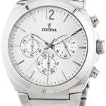 Festina Damen-Armbanduhr Chronograph Quarz Edelstahl F16817/1 B00O5B9ALA