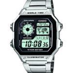 Casio Herren-Armbanduhr XL Casio Collection Digital Quarz Edelstahl AE-1200WHD-1AVEF B0099M2IQY