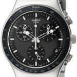 Swatch Unisex-Armbanduhr Windfall Chronograph Quarz Edelstahl YCS410GX B000KIE11Q
