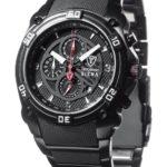 Detomaso Classic Herren-Armbanduhr SIENA Chronograph Quarz MTM8806C-BK B003URRDMS