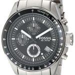 Fossil Herren-Armbanduhr Chronograph Edelstahl silber Sport Gents CH2600 B0034IFTN8