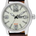 Citizen Herren-Armbanduhr XL Analog Quarz Leder BM8470-03AE B00B3PZNBM
