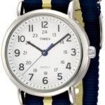 Timex Unisex-Armbanduhr Weekender  Slip-Through Strap Analog Quarz Nylon T2P142D7 B00AC5TBBM