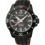 Seiko Herren-Armbanduhr XL Sportura Kinetic Analog Quarz Leder SRG021P1 B00MCBFNWA