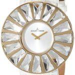 Jacques Lemans Damen-Armbanduhr XL La Passion Flora Analog Quarz Leder 1-1638D B004TTX5WS