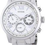 Guess Damen-Armbanduhr Chronograph Quarz Edelstahl W0330L3 B00I9CMMSO