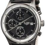 ELYS5|#Elysee Elysee Herren-Armbanduhr XL ANTAEUS Analog Leder 80505 B007PAEKMC