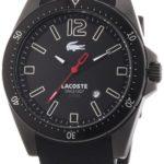 Lacoste Herren-Armbanduhr XL Analog Quarz Silikon 2010662 B00C1LV6D6