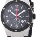 Esprit Collection Herren-Armbanduhr XL Phorkus Black – Swiss Made Chronograph Quarz EL101001S01 B00CNZA8XO