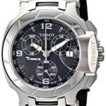 Tissot Damen-Armbanduhr T-Race Chronograph Quarz Kautschuk T048.217.17.057.00 B007559S3I