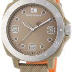 Hugo Boss Damen-Armbanduhr Orange Analog Quarz Nylon 1502288 B008F5H6WM