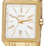 Esprit Damen-Armbanduhr Monterey Gold Analog Quarz Edelstahl ES104071005 B00BU079O4