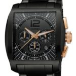 Esprit Herren-Armbanduhr Impulse Rosegold Black Chronograph Quarz Edelstahl ES103641003 B00BU07K8Y