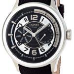 Esprit Herren-Armbanduhr XL White Pulse Analog Quarz verschiedene Materialien ES102851005 B004TRXQDI
