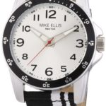 Mike Ellis New York Herren-Armbanduhr XL Analog Quarz Textil M3145/2 B00GY8CNQ6