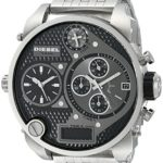 Diesel Herren-Armbanduhr XL Mr. Daddy Multi Movement Analog – Digital Quarz Edelstahl DZ7221 B004SBK2ZU