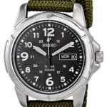 Seiko SNE095P2 Mens Solar Green Watch B004KSDHKS