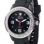 Detomaso Damen-Armbanduhr  COLORATO DT3008-B Ladies Analog Quarz Silikon DT3008-B B0099MICSC