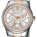Esprit Damen-Armbanduhr Analog Quarz (One Size, silber) B00TEI4NP2