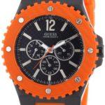 Guess Herren-Armbanduhr XL OVERDRIVE Analog Quarz Kautschuk W11619G4 B0070KKH2O