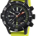 Timex Herren-Armbanduhr XL IQ Depth Gauge Analog Resin T2N958 B008P9VASE