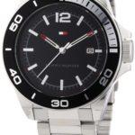 Tommy Hilfiger Watches Tommy Hilfiger Herren-Armbanduhr Casual Sport XL Analog Quarz Edelstahl 1790932 B00ENWSDXW