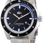 Lacoste Herren-Armbanduhr XL DURBAN Analog Quarz Edelstahl 2010734 B00JJRGNJC