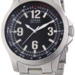 Guess Herren-Armbanduhr XL Analog Edelstahl W85106G1 B005ZYVUWS