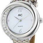 MC Timetrend Damen-Armbanduhr Analog Quarz Leder 51363 B00PUHLMKK