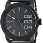 Diesel Herren-Armbanduhr XL Franchise-46 Analog Quarz Edelstahl beschichtet DZ1371 B0041OJVZ6