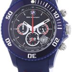 Ice-Watch Herren-Armbanduhr XL BMW Motorsport Chrono Dark Blue Chronograph Quarz Silikon BM.CH.DBE.B.S.13 B00ENKGCEG