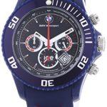Ice-Watch Herren-Armbanduhr XL BMW Motorsport Chrono Dark Blue Chronograph Quarz Silikon BM.CH.DBE.B.S.13 B00ENKGCEG