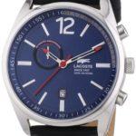 Lacoste Herren-Armbanduhr XL Austin Analog Quarz Leder 2010729 B00I5PKG8I