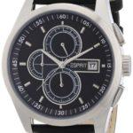 EPRT5|#Esprit Esprit Herren-Armbanduhr XL circolo Chronograph Leder A.ES104091001 B0075323DM