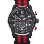 Elysee Herren-Armbanduhr Race 1 Chronograph Nylon Mehrfarbig 80524 B00E593FF4