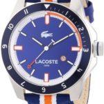 Lacoste Herren-Armbanduhr XL Analog Quarz Textil 2010700 B00ENWRX0G