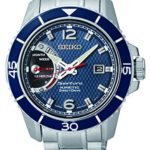 Seiko Herren-Armbanduhr XL Sportura Kinetic Analog Quarz Edelstahl SRG017P1 B00MCBFM76