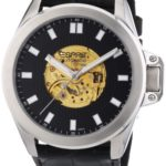 Esprit Herren-Armbanduhr XL Wega Specto Analog Automatik Leder ES101321701 B00G9YNLDE