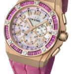 TW Steel Damen-Armbanduhr XL TECH Chronograph Quarz Leder TWCE4006 B00AGCSGUI
