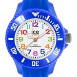 Ice Watch Ice-Watch Unisex-Armbanduhr Ice-Mini Analog Quarz (One Size, weiß) B00MLII19G