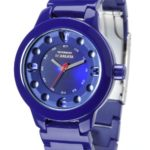 Detomaso Damen-Armbanduhr SCARLATA Violet Ladies Analog Quarz Plastik DT3018-F B00APTWGIK