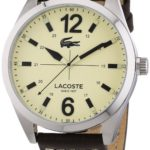 Lacoste Herren-Armbanduhr XL Analog Quarz Leder 2010696 B00E8MDOH2