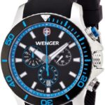 Wenger Herren-Armbanduhr XL Seaforce Chronograph Quarz Silikon 01.0643.103 B00BV6Q9BG